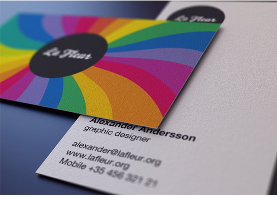 Creattica preview 12 MultiColor Business Card For inspiration
