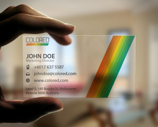 test 550x444 12 MultiColor Business Card For inspiration
