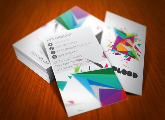 uploo2 550x399 12 MultiColor Business Card For inspiration